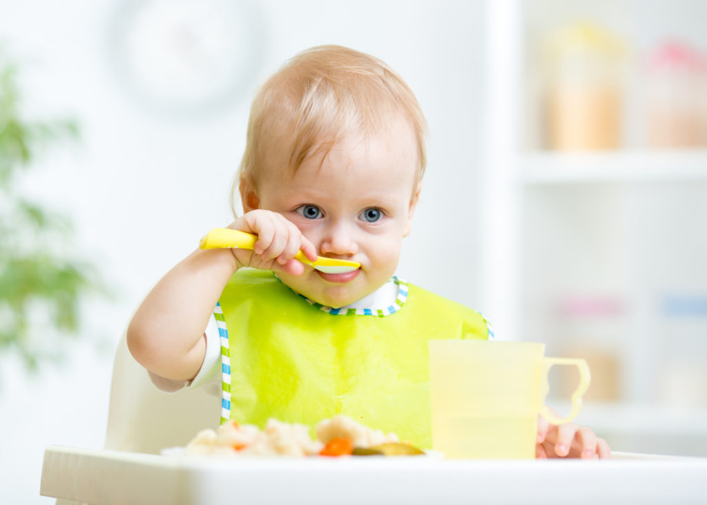 When Babies Eat Baby Food