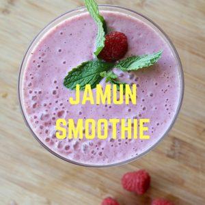 Jamun Smoothie