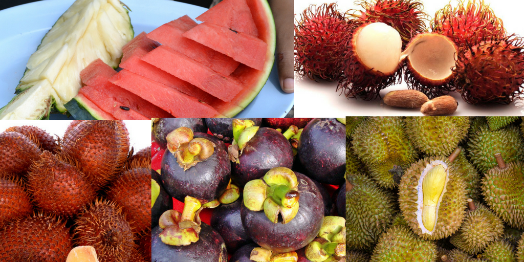 tropical fruits of pattaya