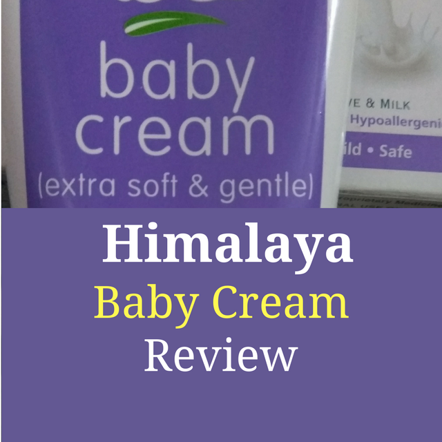 Himalaya Baby Cream Review