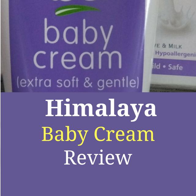 Himalaya Baby Cream Review