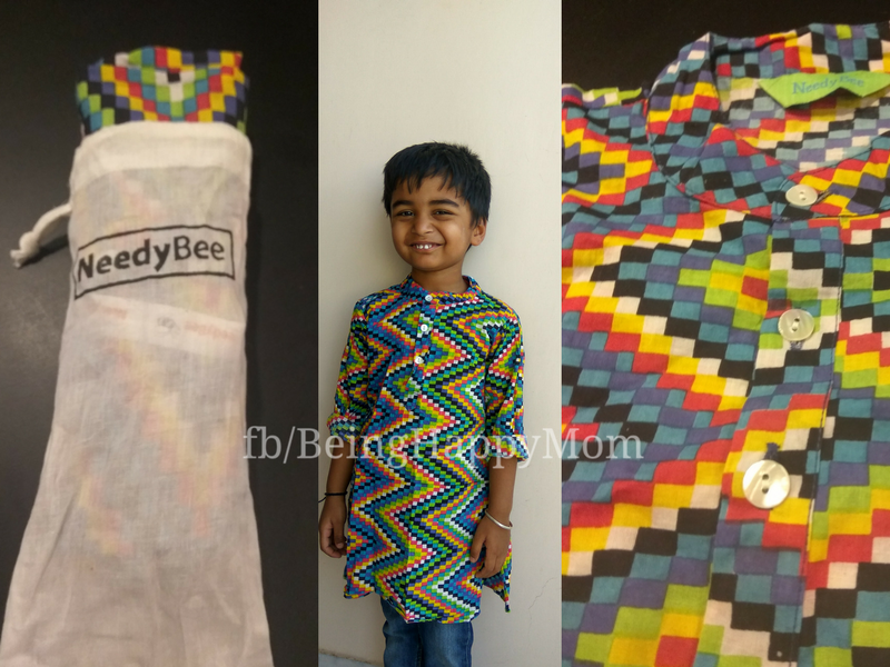 Natural Fabric Ethnic Kurta for Kids (Natural Dyed) – NeedyBee Review