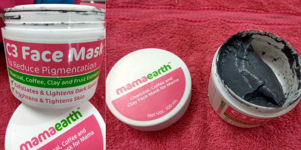 C3 face mask by mamaearth