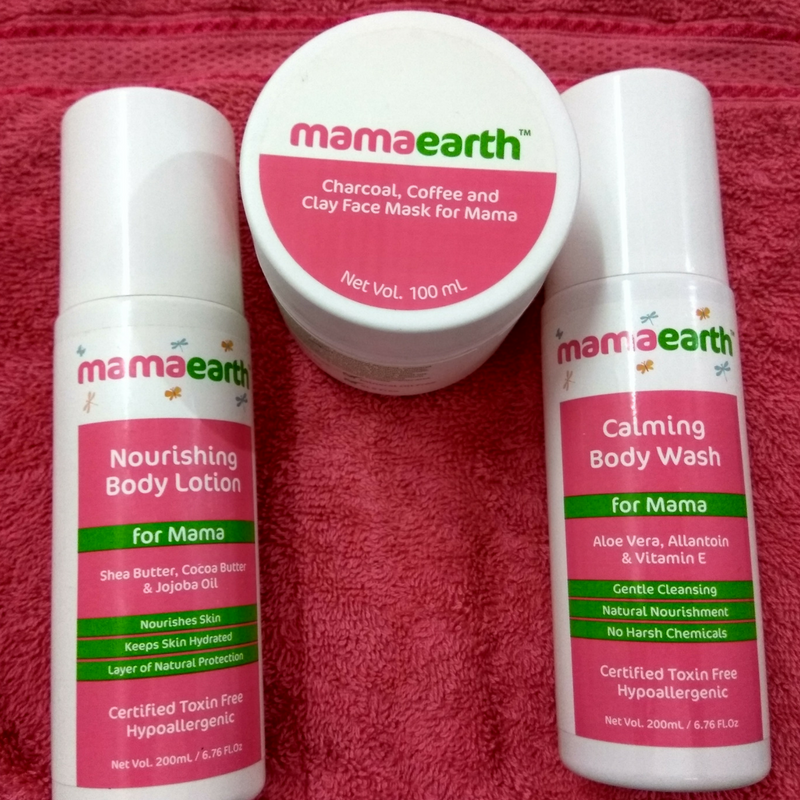 MamaEarth Range of Products for Moms – Review