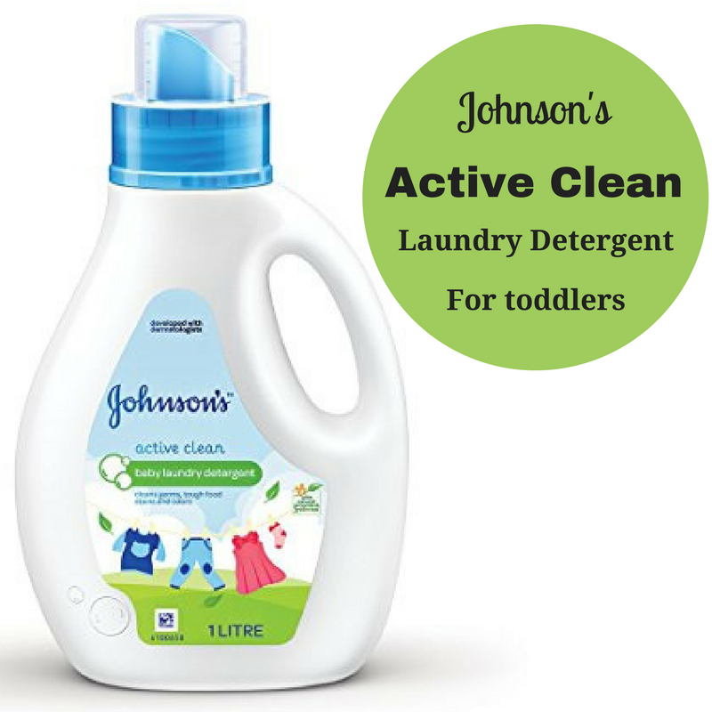 Johnson's Baby Laundry Detergent – Active Clean Review