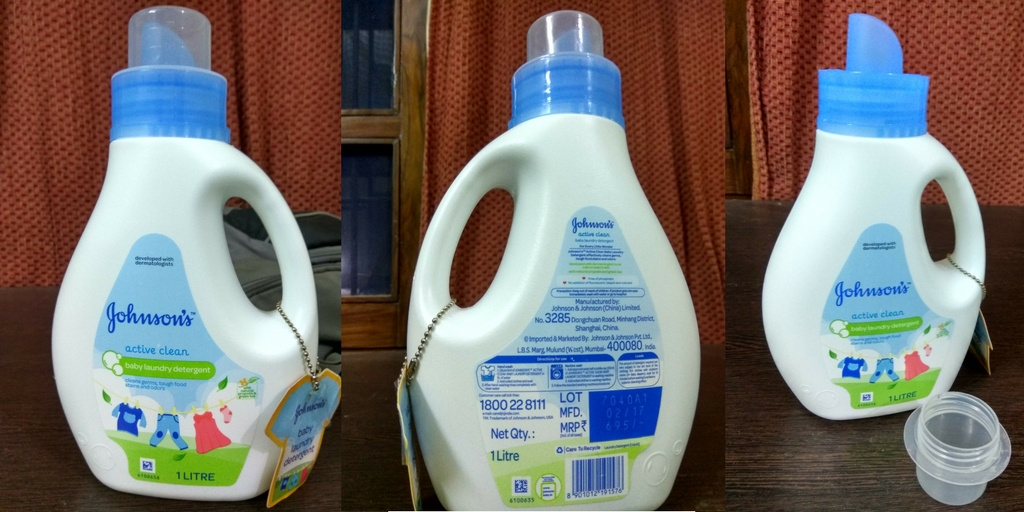 laundry detergent by johnson's