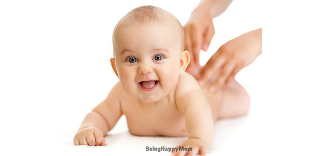 baby exercise in constipation
