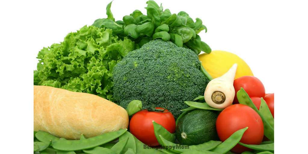 green vegetables in constipation in kids
