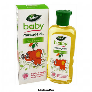 Dabur Olive Badam Baby Massage Oil