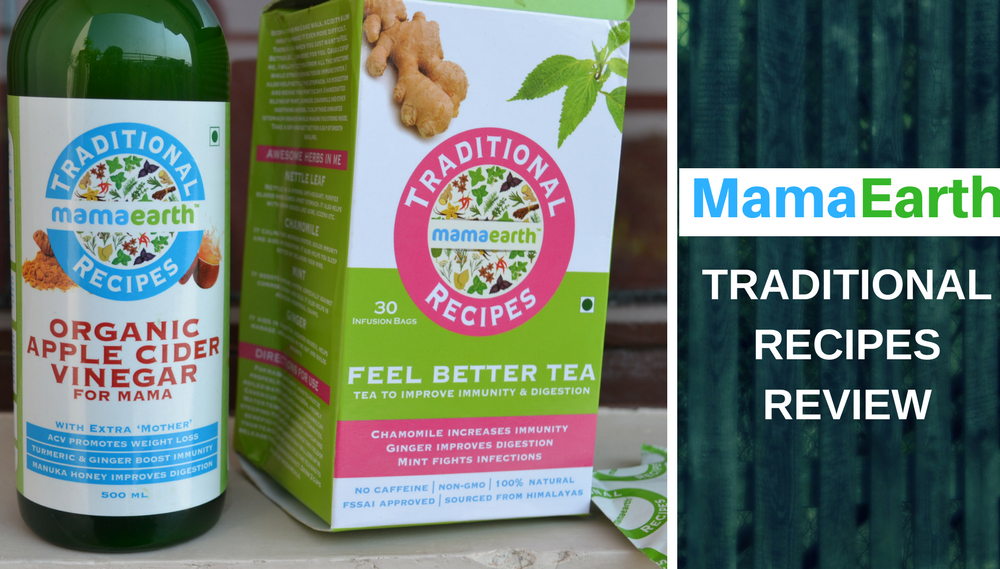 MamaEarth Traditional Recipes Review
