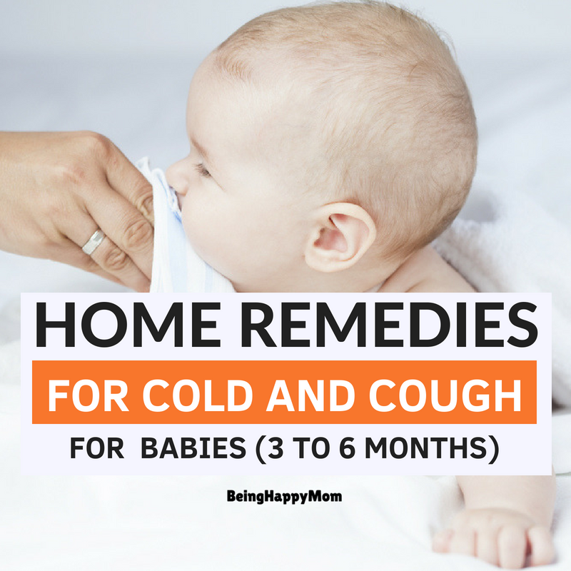 13 Best Home Remedies For Cold and Cough in Babies