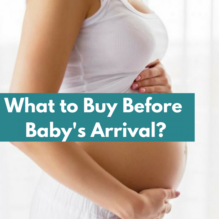 what to buy before baby arrival