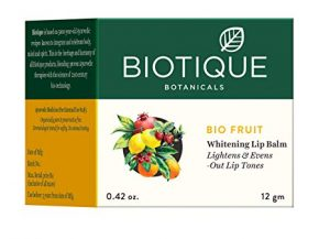 Biotique Bio Fruit Whitening Lip Balm Lightens and Evens Out Lip Tones