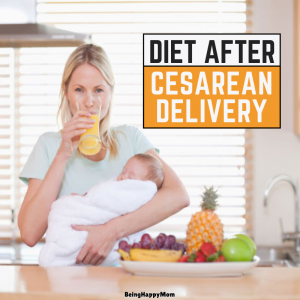 diet after cesarean delivery