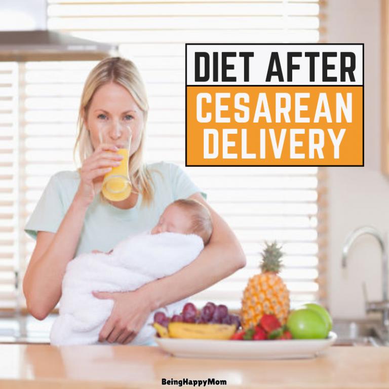 diet after cesarean delivery