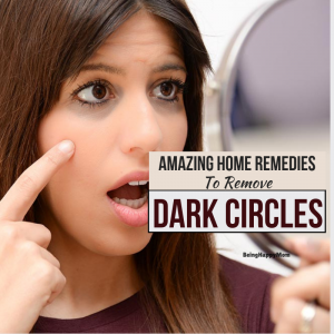 15 Best Home Remedies For Dark Circles