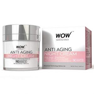 wow anti-aging night cream