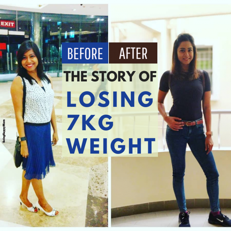 Story of Losing 7Kg Weight