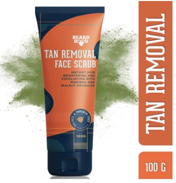 Beardhood Tan Removal Face Scrub