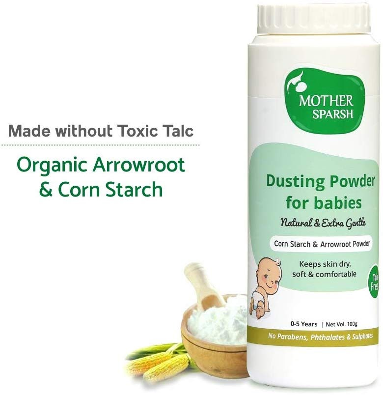 Mother Sparsh Talc-Free Natural Dusting Powder