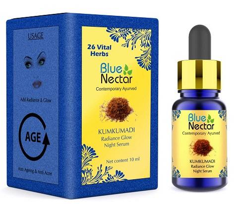 Blue Nectar Ayurvedic Kumkumadi Tailam Face Serum