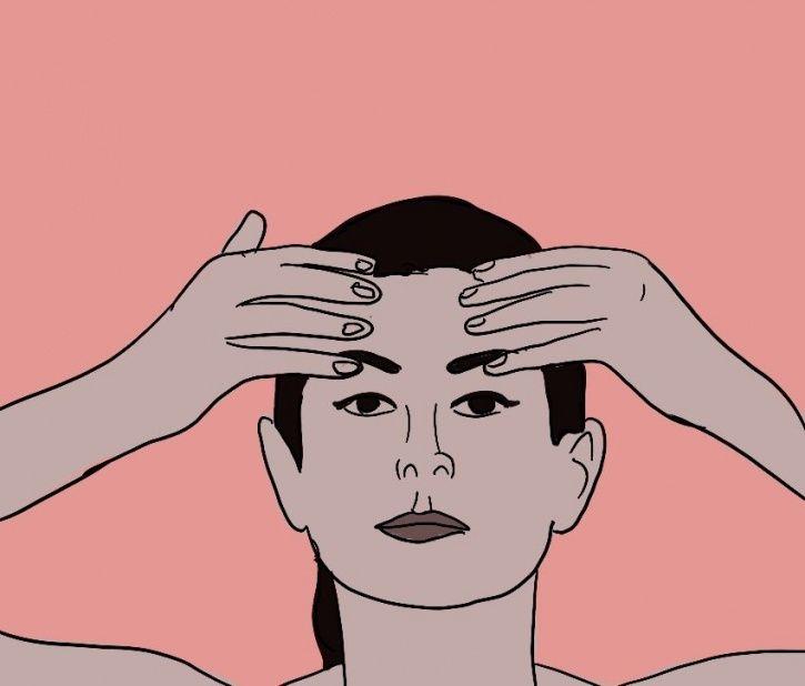 Face Yoga For Forehead