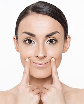 Face Yoga For Smile Lines